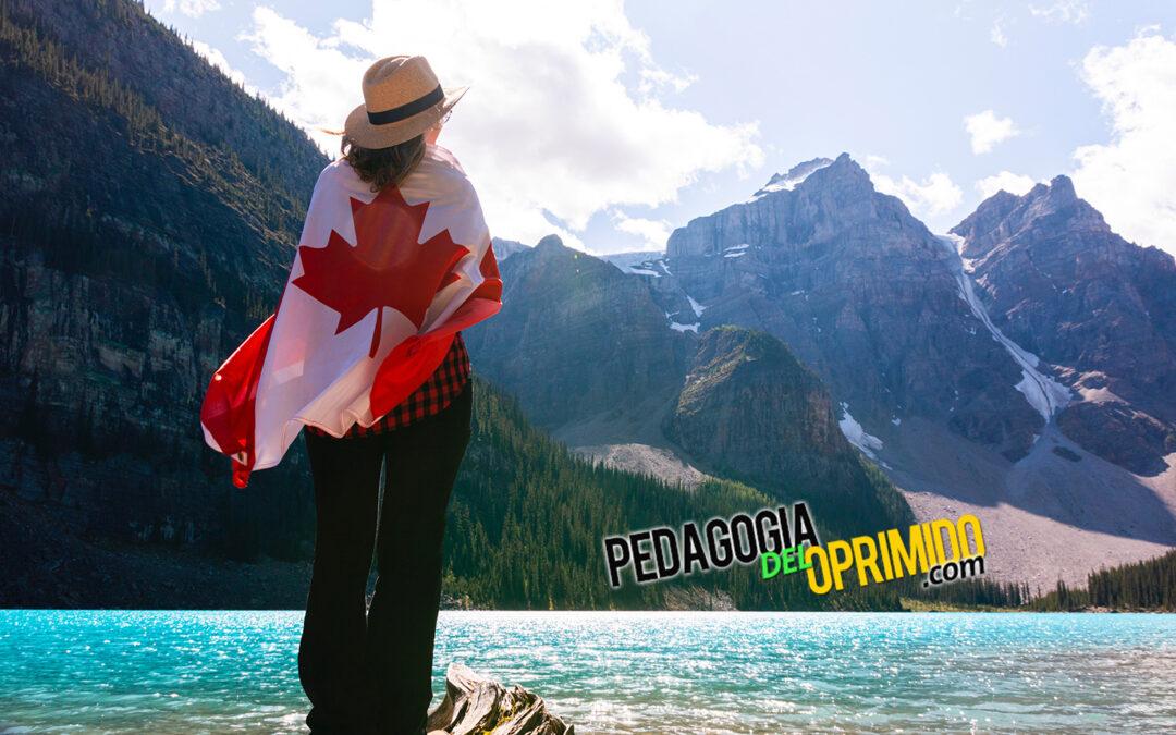 Estudiante de máster en Canadá, en vacaciones de verano